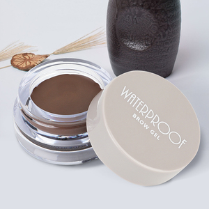 Y2456A water proof brow gel Eye gel cream eyebrow pomade jar 2.5g